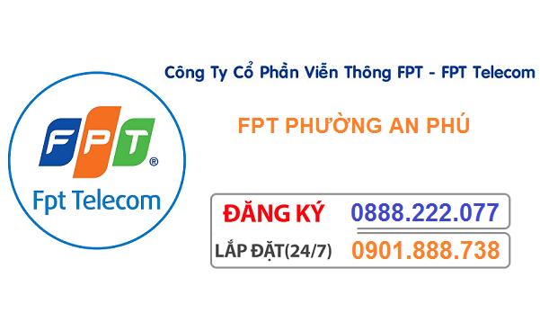 đăng ký internet fpt phường an phú