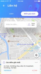 địa chỉ giao dịch hifpt 4.3