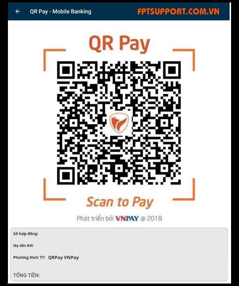 quét mã qr thanh toán