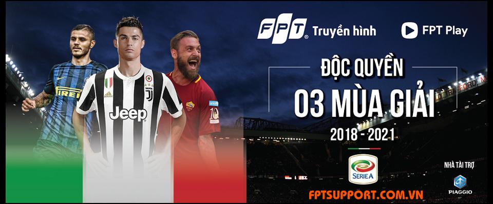 bản quyền giải Serie A và FA Cup