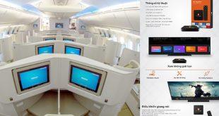 FPT Play cung cấp dịch vụ trên máy bay 2