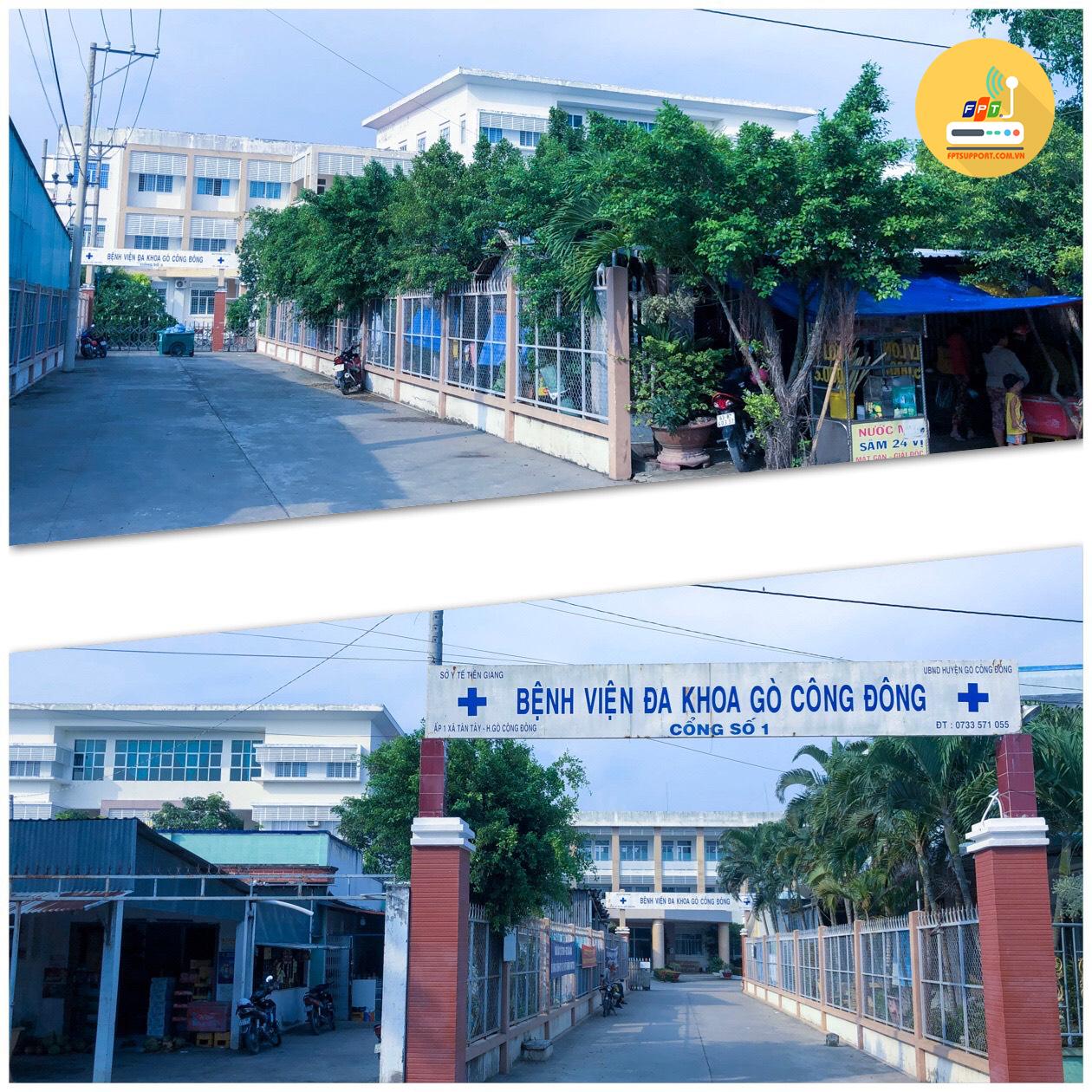 Bệnh viện đa khoa Gò Công Đông