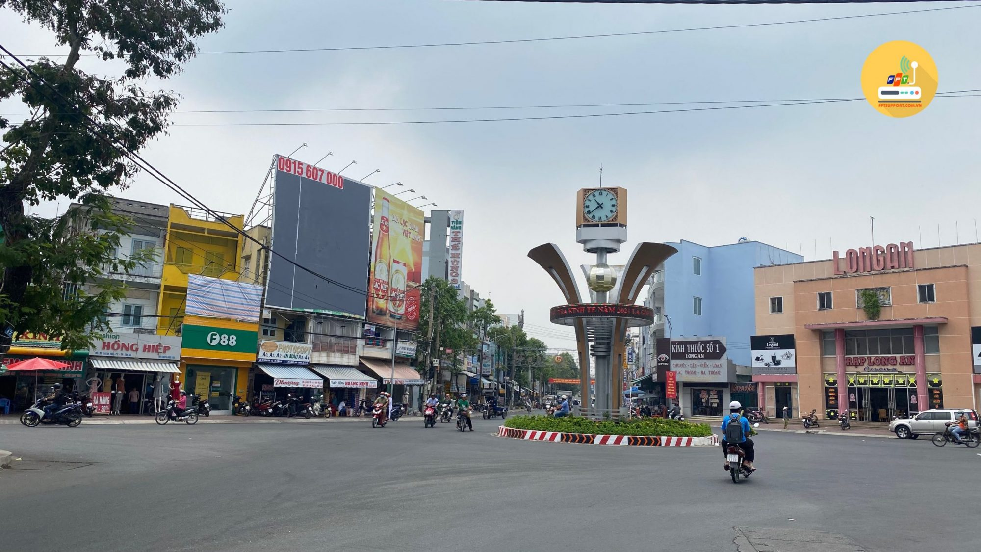 Lắp đặt wifi tại phường 2 TP Tân An